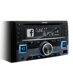 ALPINE CDE-W296BT /2 din магнитола, CD, BT, USB, MP 3,iPod/iPhone /
