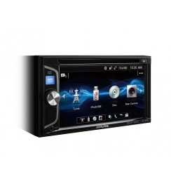 ALPINE IVE-W560BT-R /2-din мультимедийное ГУ,DVD,iPod,DivX,USB,BT,4*50Вт/